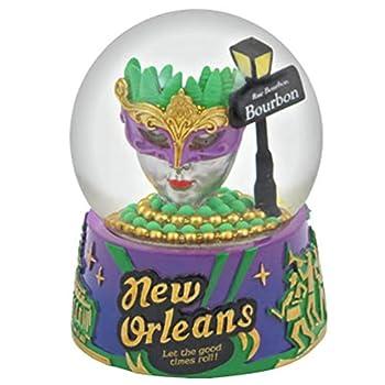 New Orleans Lousiana Mardis Gras Snow Globe - 65mm - Topline