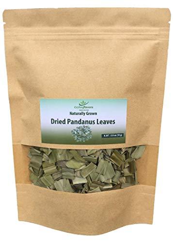 Naturally grown dried pandanus leaves from Ceylon Sri Lanka (0.5 oz)