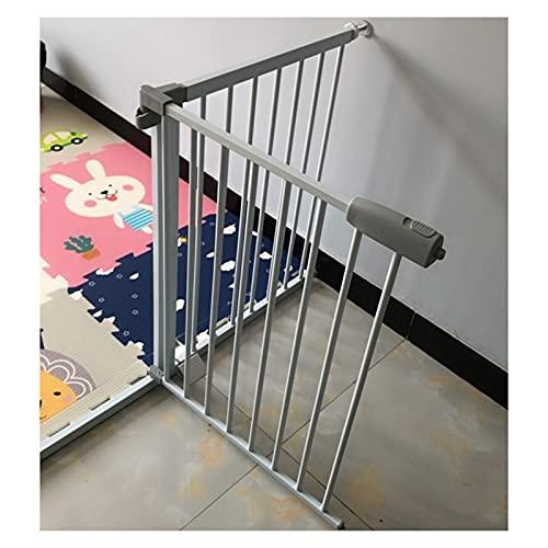 Ajuste De Presión Barrera De Seguridad, Escaleras Proteger La Cerca por Perros Niño Pequeño, Dividir El Espacio Crear Un Espacio Seguro, Cerradura De Seguridad (Color : White, Size : 174cm-181cm)
