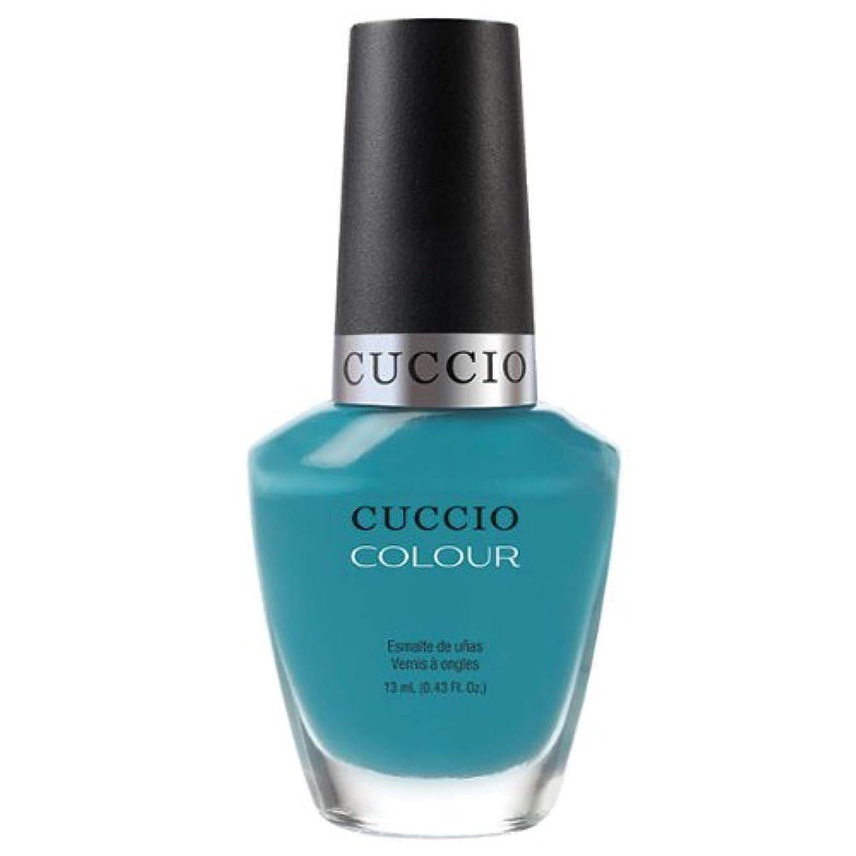 嘆願和らげる契約したCuccio Colour Gloss Lacquer - Grecian Sea - 0.43oz / 13ml