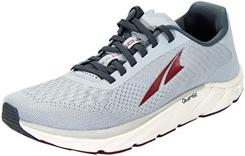 ALTRA Men's AL0A4VQT Torin 4.5 Plush Road Running Shoe, Light Gray/Red - 9.5 M US