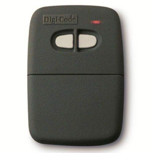 Best Bargain Digi-Code 5062 2-Button Visor Gate Garage Door Remote Control DigiCode DC5062