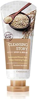 New Cleansing Story Natural Facial Deep Cleansing Foam - Brown Rice