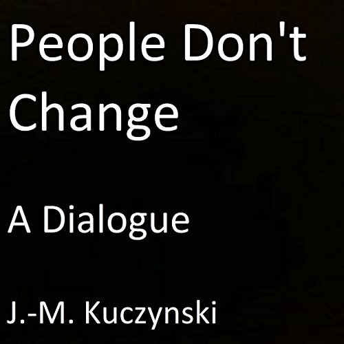 People Don't Change audiobook cover art