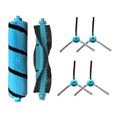 ZHIXIANG Cepillo Principal Cepillo Lateral Fit Kit for Cecotec Conga 3490 4090 5090 Viomi V2 Pro Mijia STYJ02YM Aspirador (Color : Blue)