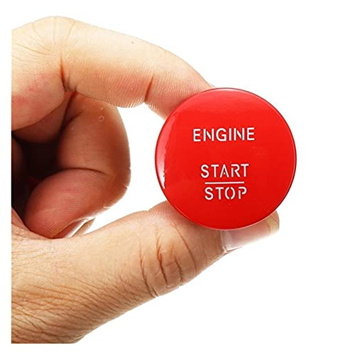 DHTENG Coche de Inicio del Motor Start Push Button Switch sin Llave para Mercedes Benz Modelo W164 W205 W212 W213 W164 W221 x204 221550714 (Color : Red)