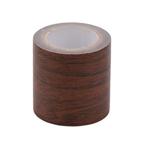 siwetg - Rollo de Cinta Adhesiva para Reparar Vetas de Madera, 5 m, 8 Colores, para Muebles