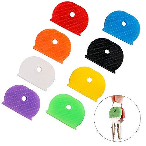 16PCS Plastic Key Cap Covers, Assorted Colors