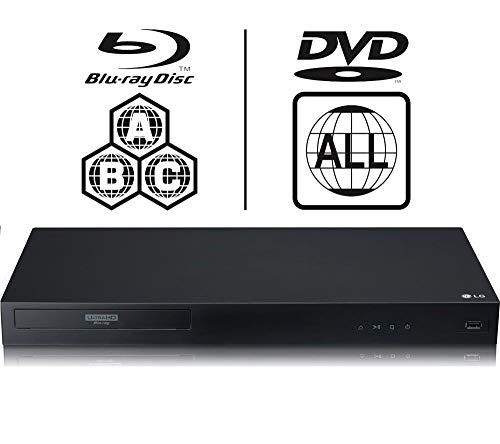 LG UBK90 4K UHD Blu-Ray Player Blu-Ray e DVD
