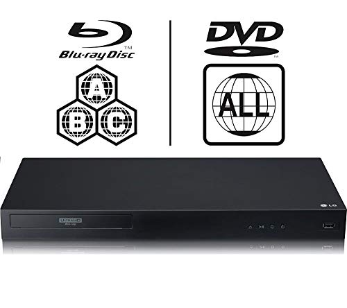 LG UBK90 4K UHD Blu-ray and DVD Player