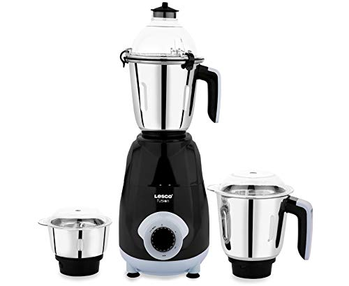 Lesco MMaaMix Fusion 750 W Mixer Grinder with 3 Jars (Sky Blue)