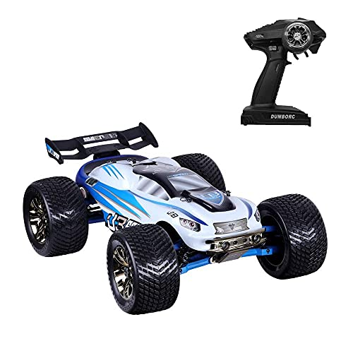 N&G Daily Equipment 2.4G Wireless High-Speed Off-Road Remote Control Car Waterproof Bigfoot Monster RC Truck Gifts For Adult Men and Children Professionals Brushless Motor Independent Shock Absorber