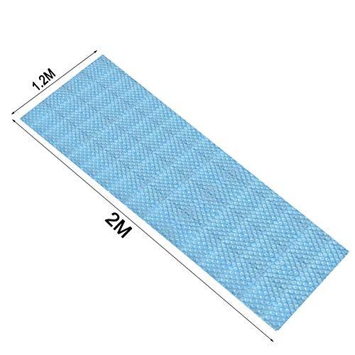 Forwei Pool Mate, Solar Poolabdeckung, Deluxe Solardecke für Pools im Boden, Rechteck Pool/Runde Poolabdeckung Solarabdeckung, Walze für Solarabdeckung