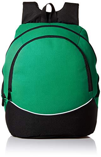 Augusta Sportswear - Mochila grande de tres colores, Unisex, Mochila grande tricolor, 1915, Kelly/Negro/Blanco, Talla única