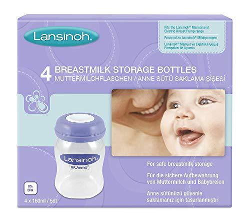 Lansinoh - Muttermilchflaschen (Weithals)