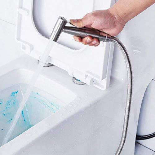 Grifo bidet de baño pistola de acero inoxidable grifo de ducha de mano grifo de bidet para baño rociador manual ducha pañal de limpieza