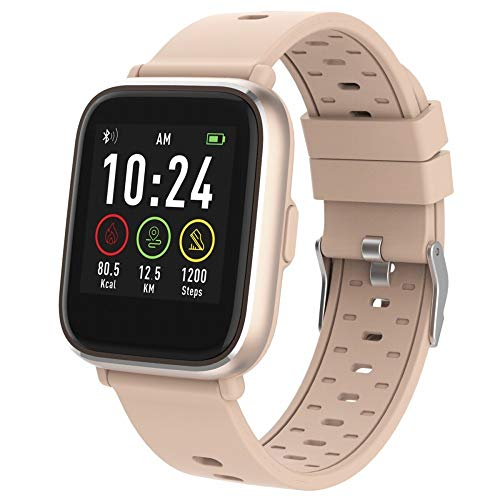 Denver Bluetooth-Smartwatch mit Herzfrequenzsensor Rose SW-161
