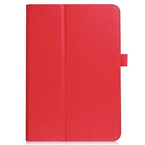 Cubierta de la Caja de protección Funda con Flip de Cuero magnético Inteligente para Huawei MediaPad T5 Cubiertas de tabletas de 10 Pulgadas-Rd_Porcelana