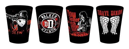 GB Eye LTD, The Walking Dead, Daryl Dixon, Vasos de chupito a color