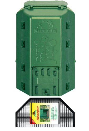 Neudorff 775Thermo composter Duotherm, 530Litri, Incluso Mouse Mesh