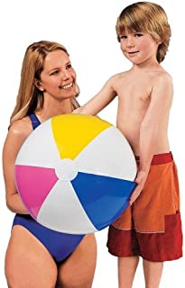Intex - 59030EP Inflatable Beach Ball (24 Inches), (Assorted Colors), (2-Pack)