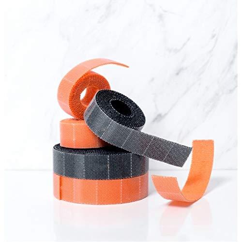 Yucong Ataduras de Cable, Sujetacables eléctricos Reutilizables Tiras de Velcro Cinta de...
