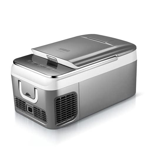 FDSZ Mini refrigerador portátil Frigorífico termoeléctrico refrigerador de automóvil con refrigeración de Doble núcleo, congelación y refrigeración en pequeño congelador