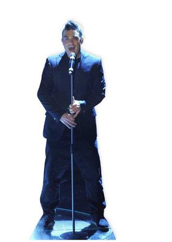 STAR CUTOUTS Pappaufsteller Robbie Williams, lebensgroß