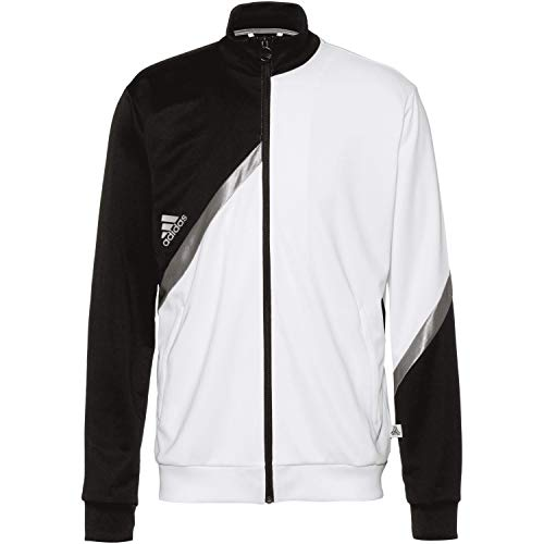 adidas Tan Club Home - Chaqueta deportiva negro/blanco S