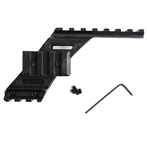 Noga Alcance de la Pistola táctica Universal Alcance Montura de la luz láser con Quad 7/8