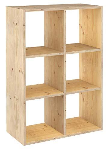 Astigarraga DMC3X 2Regal Holz (6Einlegeböden)