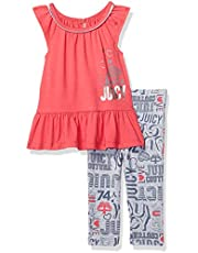 Juicy Couture Baby Girls' 2 Pieces Legging Set