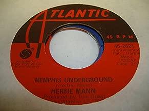 HERBIE MANN 45 RPM Memphis Underground / New Orleans