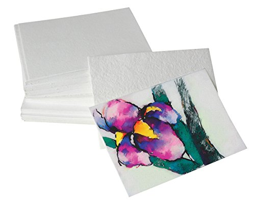 Shizen Design Professional Grade Watercolor Paper 5 in. x 7 in. clean edges pack of 100