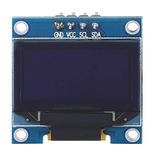 Bewinner1 OLED LCD Display Module, SSD1306 27.3MM * 27.8MM * 3.7MM 0.96 inches 128 * 64 High Resolution Tablet LCD Displays for Arduino 51 Series MSP430 Series STM32 / CSR Chip