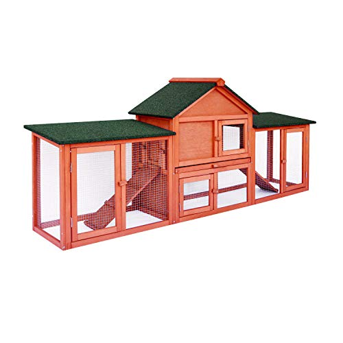 Rabbit Hutch Outside