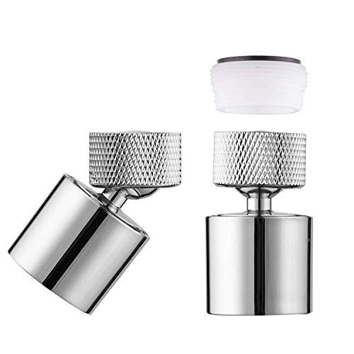 Filtro de Burbujas Adaptador de Filtro Dispositivo para El Ahorro de Agua En El Hogar iwobi 360 /° Cabeza Giratoria Filtro Faucet