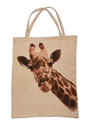 Hopeg Einkaufstasche mit schönem Giraffenkopf