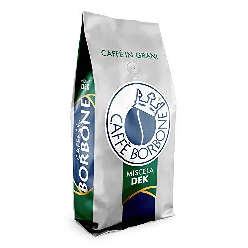 3 KG CAFFE' IN GRANI BORBONE QUALITA' DEK DECAFFEINATO