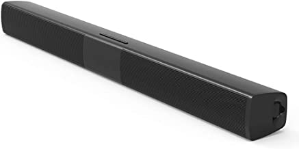 20W Sound Bar, Echo Wall Home Theater Wireless Bluetooth Speaker Subwoofer, Support for Bluetooth/TF Card/AUX Playback, for TV/Computer/Mobile Phone