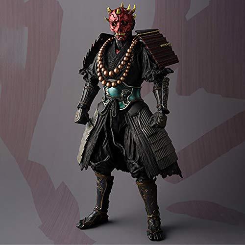 Star Wars Anime Action-Figur Modell Darth Maul Statue Hauptdekoration Alltag Sammlerkinderspielzeug Geschenk 18CM