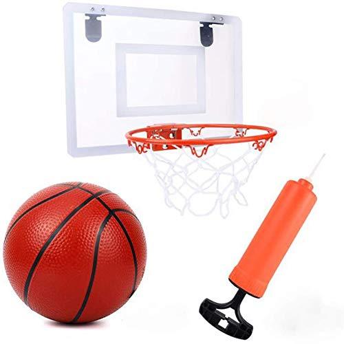 Baloncesto Canasta Baloncesto Infantil Diseño Plastico Colgante Infantil Baloncesto Juego Al Aire Libre y Interior Conjunto