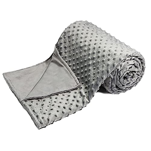Alomidds Duvet Cover for Weighted Blankets   Removable   8 Ties – 48'' x...