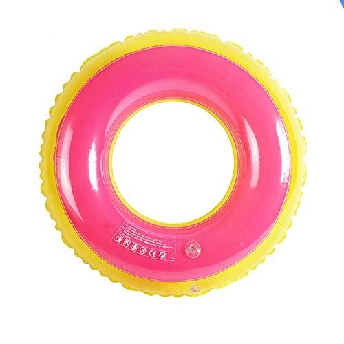 Gcxzb Schwimmreifen Schwimmring, aufblasbarer PVC-aufblasbarer Unterarm-Floating-Ring, Kind, geeignet für den Strand Pool Wasserpark, Nicht leicht zu dichten (Color : B, Size : 70Cm)