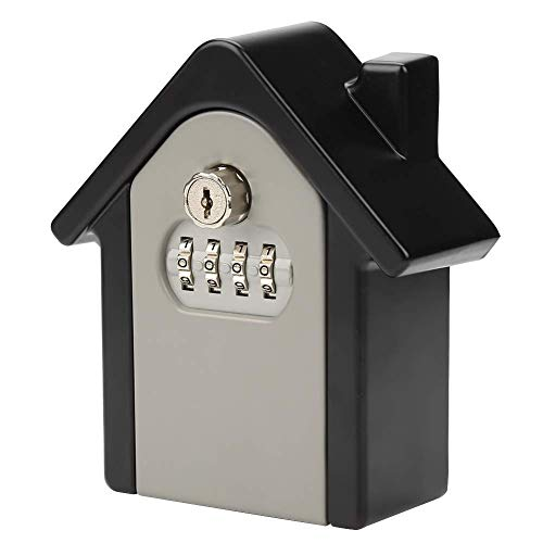 minifinker Caja de Llaves montada en la Pared, 13 * 5.5 * 15cm, aleación de Aluminio, Caja Fuerte, para fábrica para Hotel