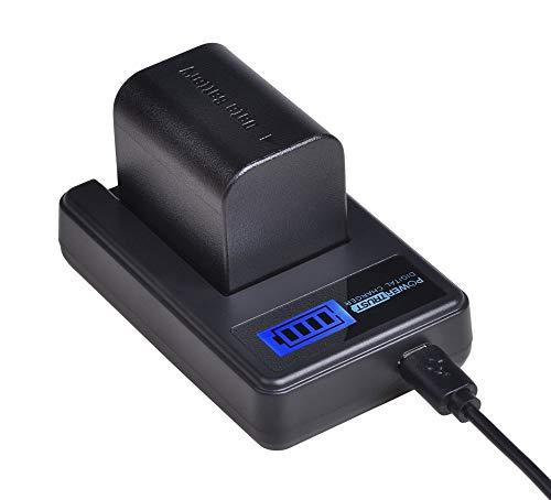 PowerTrust 1x BN-VG121 BN-VG121US VG121US Battery + LCD USB Charger for JVC Everio GZ-E Series BN-VG138, BN-VG138US, BN-VG107, BN-VG107U, BN-VG107US, BN-VG114, BN-VG114U, BN-VG114US
