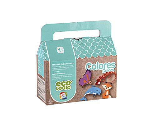 Cefa Toys- Eco Logic Colores Juego de Fichas, Multicolor (21670)