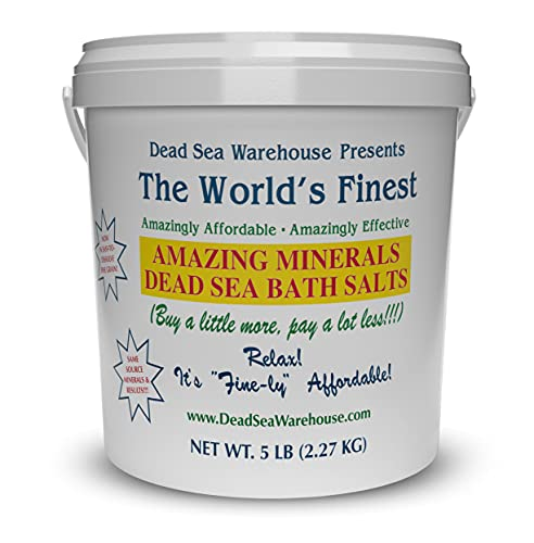 Dead Sea Warehouse-Amazing Minerals Dead Sea Bath...