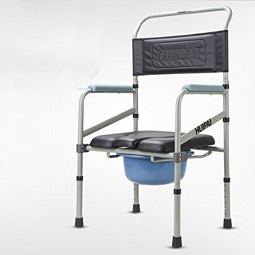 Main courantel& Tabouret de toilette Tabouret Chaise Potty Chaise Intérieur Adulte Personnes âgées Femmes enceintes Personnes handicapées (Couleur : A)