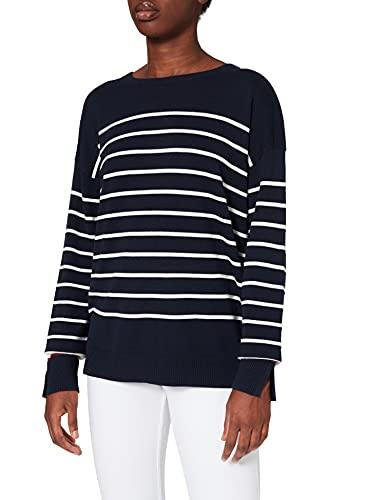 Cecil Damen 301551 Pullover, deep Blue, XXL
